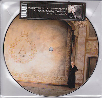 Abba Agnetha Faltskog Picture Disc Mint Condition Unplayed.  As New