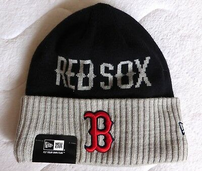 BOSTON RED SOX New Era Cozy DEEP CUFF Beanie Toque Hat Baseball NEW TAGS