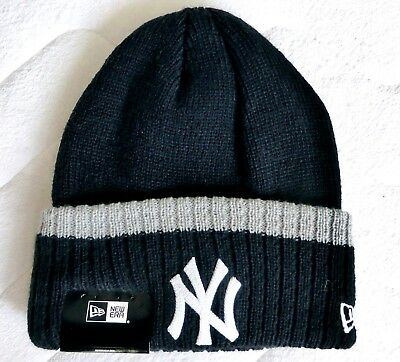 NY YANKEES New Era Cozy DEEP CUFF Beanie Toque Hat Baseball NEW YORK TAGS