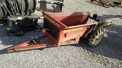 Pequea Manure Spreader 25G Ground Drive