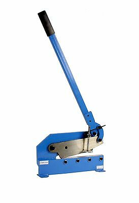 """Erie Tools® 12"""" Benchtop Manual Plate Shear Slices Sheet Metal, Plate, and Rebar"""