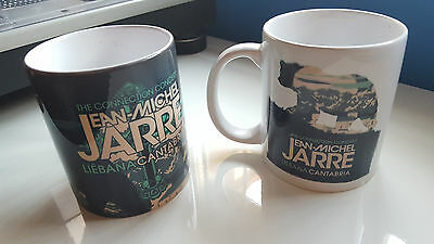 "Jean Michel Jarre ""the Connection Concert"" Set Of 2 Official Mugs / Liebana 2017"