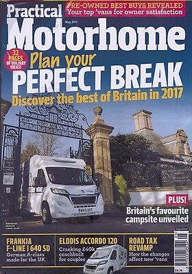 Practical Motorhome Magazine - Issue 186 - May 2017