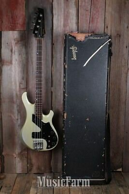 Gibson 1982 Victory Artist 4 String Electric Bass Guitar Antique Gold with Case