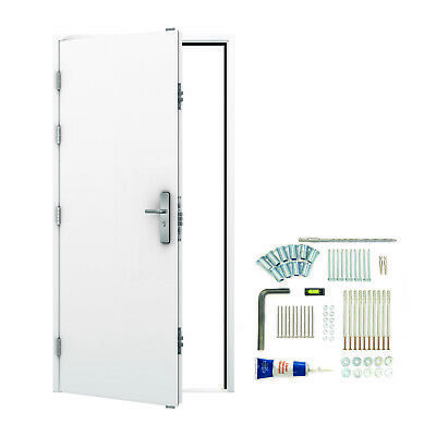 Industrial Commercial Strong High Security Steel Door and Frame (Metal) Lathams
