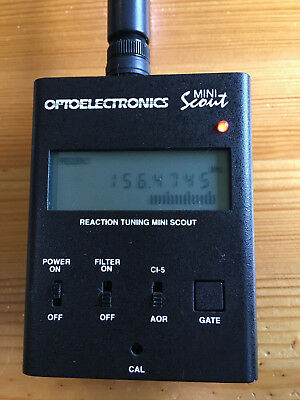 Optoelectronics mini scout frequency finder