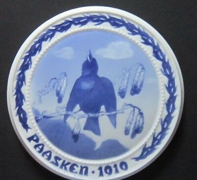 Bing and Grondahl The Song of the Starling 1919, Easter plate