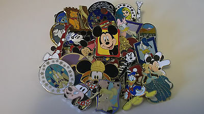 Disney Trading Pins_Lot Of 25 Pins_No Doubles_Fast Free Shipping