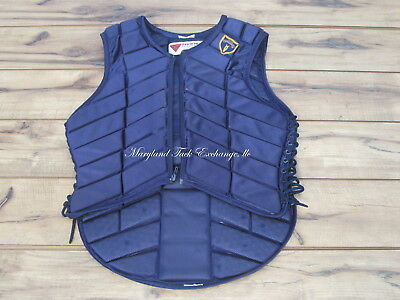 Tipperary Cross Country Riding Vest Size M ( 38) Navy Blue-Priced Low!