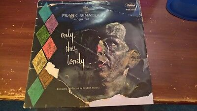 Vinyl LP - FRANK SINATRA '...sings for only the lonely' (1958) Cat LCT6168