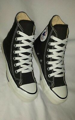 Converse USA New Vintage hi top black  & white sz mens 1