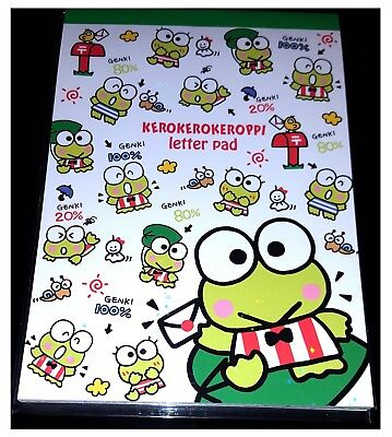 Sanrio Kero Keroppi Decorative Pen Pals Kawaii Letter Writing Paper - 36 sheets