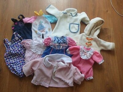 Collection Bundle Lot Assorted Baby Dolls Clothes Outfits Dresses