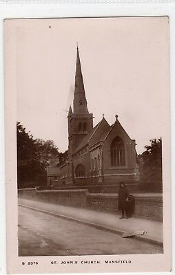 Early 1900's Mansfield postcard.