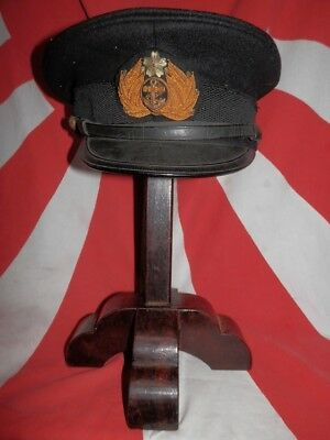 WW2 Japanese Navy Officer Hat .Mr SUGIMOTO. Good