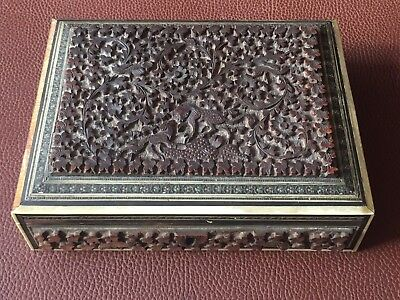 Vintage Anglo-Indian Vizagapatam Rectangular Box