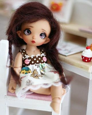 BJD Fairyland PukiPuki Rose Doll with Certificate