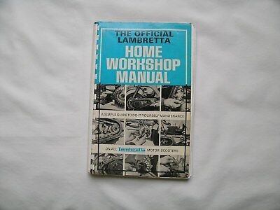 Lambretta The Official Home Workshop Manual