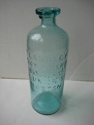 Dr. Langley's Root & Herb Bitter's Bottle 76 Union St.