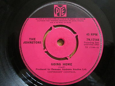 "The Johnstons ‎– Going Home -  1966 7"" PYE  7N.17144"