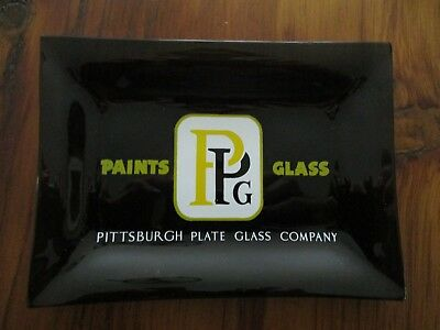 Vintage PITTSBURGH PLATE GLASS COMPANY rectangular dish - Never used