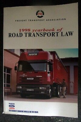 1998 YEARBOOK OF ROAD TRANSPORT LAW Paperback / FREIGHT TRANSPORT ASSOCIATION