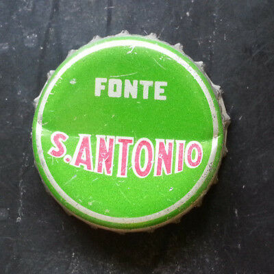 Sant'Antonio tappo acqua minerale water bottle crown cap chapa agua Kronkorken