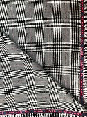 Holland And Sherry Suit Length - 3.9 Metres - 100% Superfine Wool Worsted