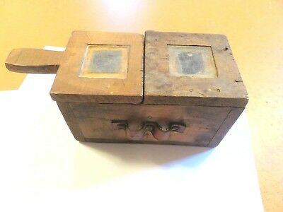 Antique Vintage Wooden Queen Bee Box / Beekeeping Box Apiary