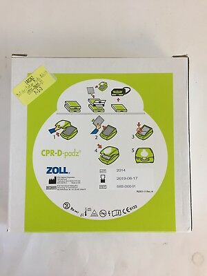 Zoll OEM CPR-D Pads AED Plus Pad (8900080001) EXP 2020