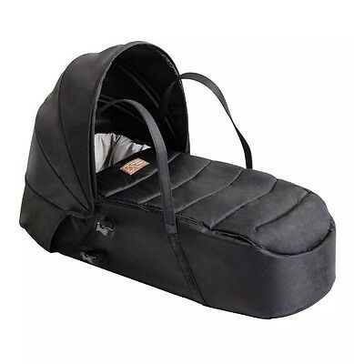 Mountain Buggy Cocoon (Black) Newborn Baby Soft Carrycot FREE POST