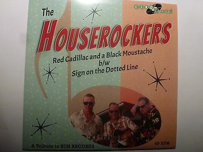 Houserockers 'red Cadillac And A Black Moustache' Killer Rockabilly Top Uk Band