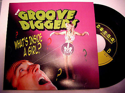 Groove Diggers 'what's Inside A Girl' Witchcraft Killer Uk Rockabilly Neo Cramps