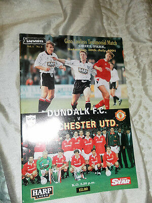 1994 Friendly Dundalk V Manchester United