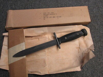 Vietnam War Us M4 Bayo For M1 Carbine-New Old Stock In Box
