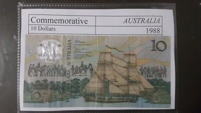 Australia Ten Dollars Polymer Commemorative 1988