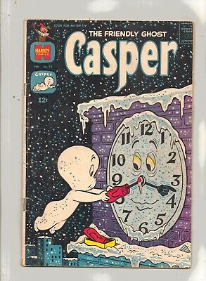 CASPER, THE FRIENDLY GHOST  No 78 with/SPOOKY, POIL and THE  GHOSTLY TRIO