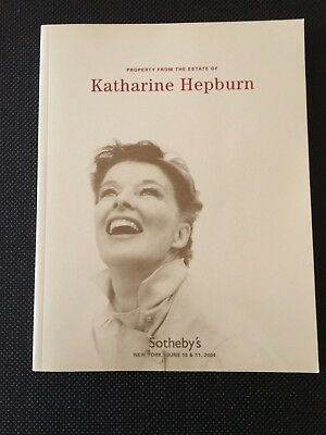 Sotheby's Auction Catalog - Property From the Estate of Katherine Hepburn 2004
