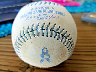 MLB GAME USED FATHERS DAY BASEBALL 6/18/2017 Colorado Rockies vs SF Giant