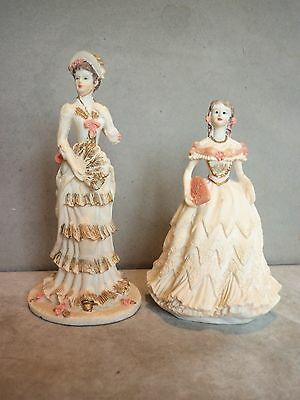 Shudehill Pair Of Figurines In Period Costume. Excellent Condition.