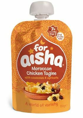 For Aisha Moroccan Chicken Tagine Couscous & Apricots   130g x 6   Money Saving