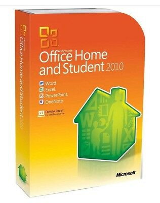 Microsoft Office Home and Student 2010 License Key