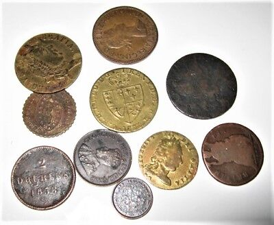 Old Coins And Tokens ????