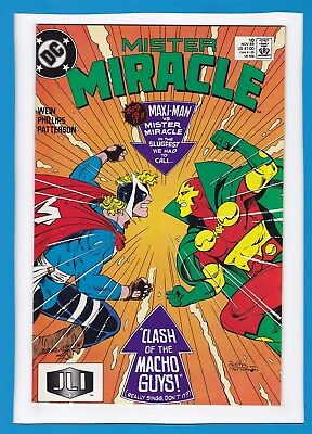 Mister Miracle #10_November 1989_Very Fine+_Justice League International!