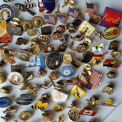 Big Lot of Pins Vintage / Now