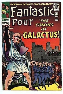 Fantastic Four #48 Vol 1 Super High Grade 1st App of Silver Surfer and Galactus