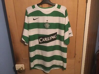 Celtic Football Home Shirt Medium 05/06 Season Roy Keane No 16 on the back