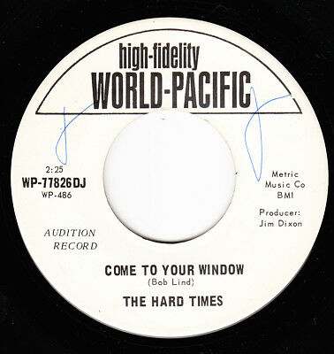 The Hard Times 1966 Us Promo *come To Your Window*  Psych Folk Rock  N Mint