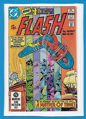 """The Flash #311_July 1982_Very Fine Minus_""""a Matter Of Time""""_Bronze Age Dc!"""