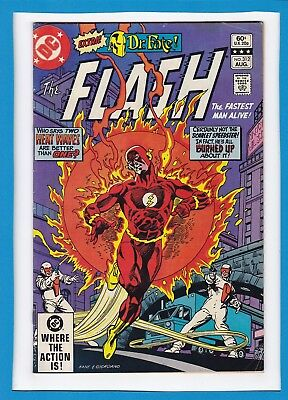 """The Flash #312_Aug 1982_Vf Minus_""""two Heatwaves Are Better Than One""""_Bronze Age!"""